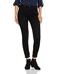 Pieces Pcfive Betty Jeggings Blk/Noos, Jeans Femme