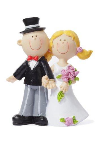 Tischdeko: Brautpaar, 90 mm