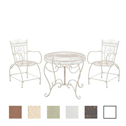 clp garten sitzgruppe sheela metall eisen lackiert design nostalgisch antik tisch rund. Black Bedroom Furniture Sets. Home Design Ideas