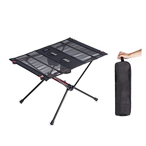 Hasayo Klappbarer ultraleichter Esstisch Tragbarer Reise-Esstisch Schreibtisch Quadratischer Tisch Picknick im Freien