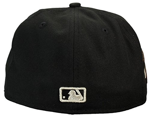 "New york yankees casquette ""gamer"" en métal noir new era 59Fifty Noir - Noir"