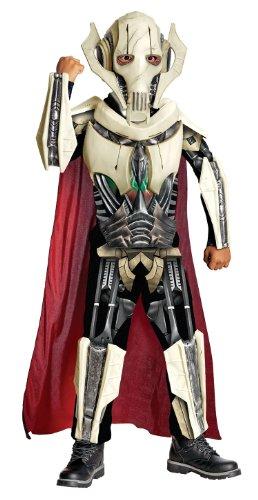 Kind General Von Kostüm Grievous - Star Wars Deluxe Kinder Kostüm General Grievous Gr.8 bis 10 J.