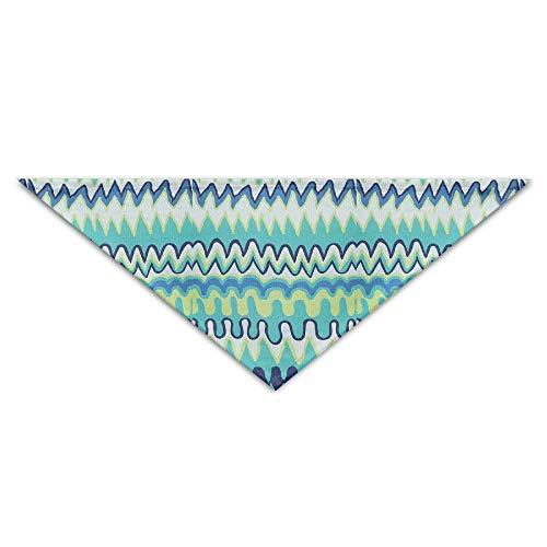 nxnx Hundebandana-Schal-Dreieck-Schellfisch-Stammes- aztekisches abstraktes Drucken-Halstuch, Katzen-Geburtstags-Zusätze (Aztekische Halloween Kostüm)