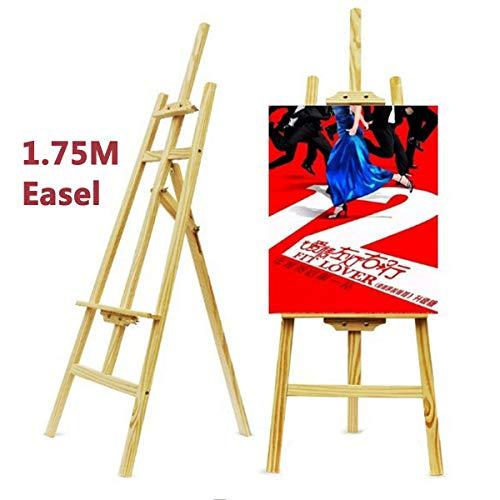 Best easel, Künstler Staffelei, 175cm / 68.9inch Staffelei Stehen für Erwachsene Kinder Künstler Malerei Holz Robuste Konstruktion A-Frame Staffelei -426