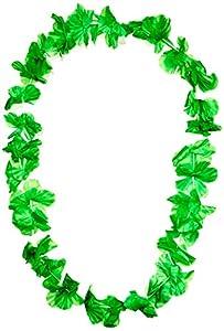 UV Floor 3700817022642 - Collar hawaiano, color verde fluorescente