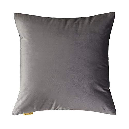 JUNDY Kissenhülle Dekokissen Throw Pillow Covers Für Autos Sofakissen Startseite Dekorative Sofa Bett Home Decor Samtkissen mit einfarbiger Kernfarbe7 30 * 50cm