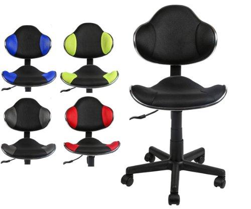 CLP Bürostuhl BASTIAN, belastbar bis 100 kg, Arbeitshocker höhenverstellbar 39 - 51 cm, ergonomisch, modern schwarz, schwarz