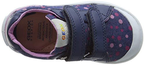 Kiwi Blau B Mädchen Geox Baby Lauflernschuhe Girl avioc4005 xEY6tEwAnq