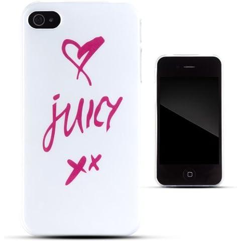 Cover di gel TPU Juicy della Zooky per Apple iPhone 4/4S