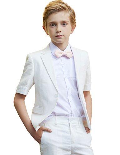 �ge Sets 4 St¨¹ck Formale Kurzarm Kleid Wear Vest Shorts Von Kinder bis Teen (Teen Maskerade Kleider)