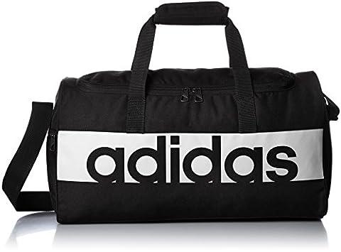 adidas BR7228 Sac de Sport Mixte Adulte, Noir/Noir/Blanc, Taille
