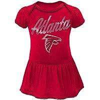 "Atlanta Falcons NFL ""Dazzled"" Infant Girls Bodysuit Dress"