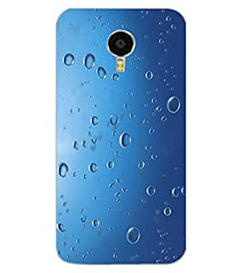 ColourCraft Water Drops Design Back Case Cover for MEIZU BLUE CHARM NOTE 3