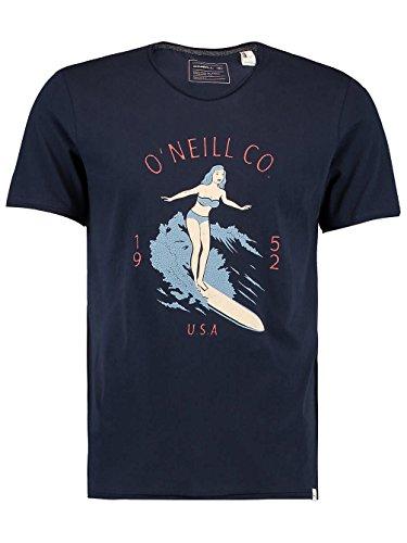 Herren T-Shirt O'Neill Akela T-Shirt Ink Blue