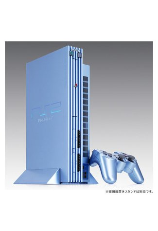 Playstation 2 - PS2 Konsole, Aqua Blue