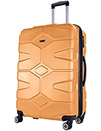 SHAIK® Serie RAZZER Design PMI Reisekoffer 38   85   120 Liter, 4 Doppelrollen, TSA Schloss