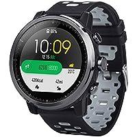 SO-buts HUAMI Amazfit Stratos 2 Armband Silikon,Leichtgewicht Belüftung Strap Armband, Zweifarbiges Silikonband,Für HUAMI Amazfit Stratos 2