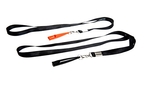 Benbulben Twin Pack of Professional High Pitch Plastic Dog Whistles for Recall Training Complete with Lanyards and… 2