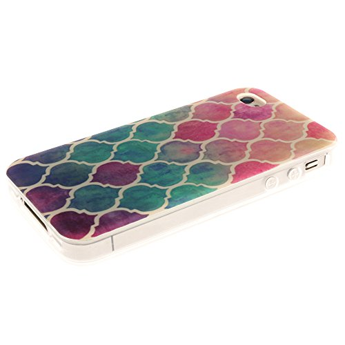 Nancen Apple iphone 5 / 5S (4,0 Zoll) Ultral Slim Weich TPU Silikon Case / Hülle / Handyhülle Backcover. Anti-Kratz und Anti-Staub. Laterne