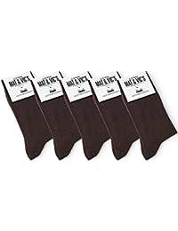Mat And Vic's Chausettes, Confortables, Respirantes, OEKO-TEX 100-35 36 37 38 39 40 41 42 43 44 45 46 (Lot de 10 paires)