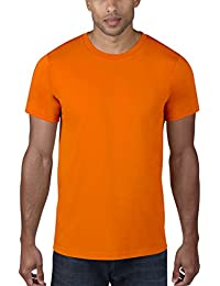 Anvil 980 - T-shirt - Uni - Col rond - Manches courtes - Homme - Orange (Neo/Neon Orange) - Small (Taille fabricant: S)