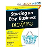 (Starting an Etsy Business for Dummies) By Strine (Author) Paperback on (09 , 2011)