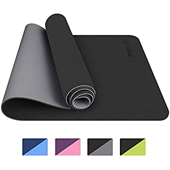 Toplus Yoga Mat Classic Pro Yoga Mat Tpe Eco Friendly Non