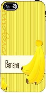 Snoogg Bright Organic Banana Card In Vector Format Designer Protective Back C...