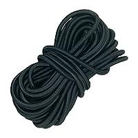 ROSENICE Corde élastique 20M 6mm élastique chaîne corde pour vêtements Textile chapellerie artisanale fabrication