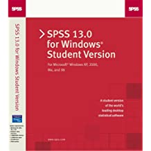 SPSS 13.0 for Windows Student Version. CD-ROM für Windows.