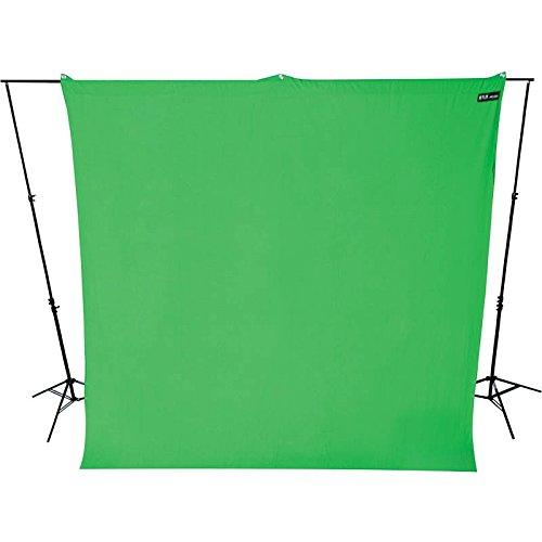 Westcott Hintergrundstoff 270 x 300 cm - Chroma Key Grün - für Foto und Video verwendbar mit Hintergrundsystem Fotohintergrund Stoffhintergrund Westcott Video