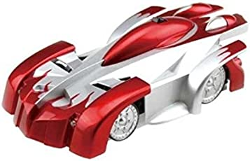 Sirius Toys Wall Climber Zero Gravity Remote Control Car (Red, ST-WC-001BL)