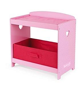 Janod- Cambiador Mademoiselle, Color Rosa (Juratoys SAS J06563)