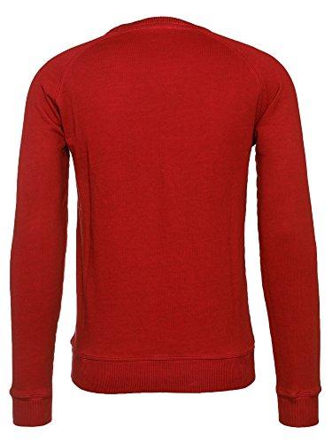 BOSS Orange Herren T-Shirt Welan Rot (611)