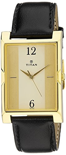 41BQJ1VNo9L - Titan 1641YL02 Karishma Multi Color Mens watch