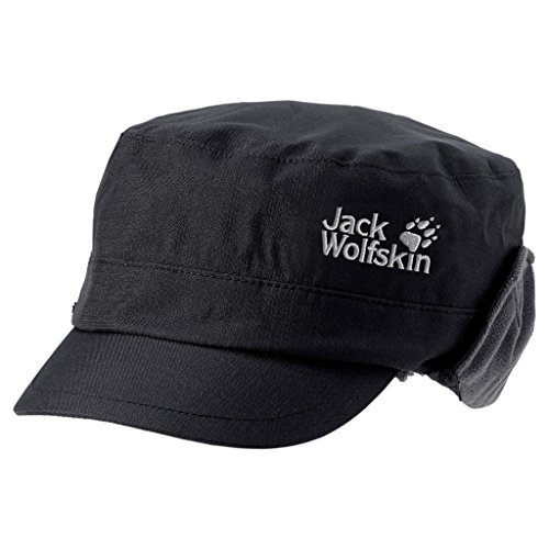Jack Wolfskin Mütze Calgary, Black, M, 1900141-6000003