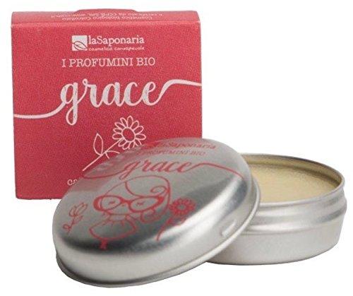 La Saponaria, Profumino bio Grace - calda primavera (15ml)