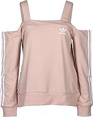 adidas Originals Info Poster Off-Shoulder Sweatshirt Long Sleeve) For Women