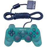 Official Sony PS2 Dual Shock Controller - Emerald Green