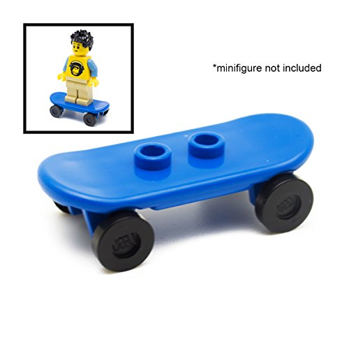 LEGO Blue Skateboard For Minifigure
