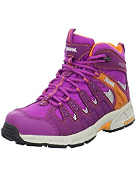 MEINDL Snap Junior Mid Kinder Wanderschuhe fuchsia/orange 7498-34162-5