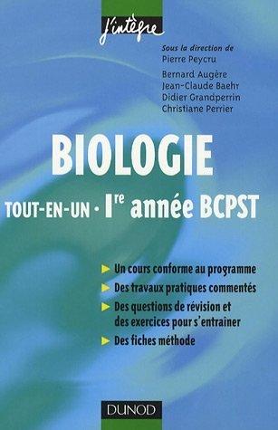 Biologie : Tout-en-un  - BCPST 1re anne
