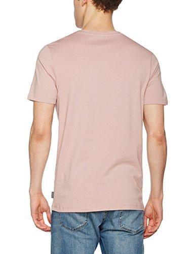 JACK & JONES Herren T-Shirt Jorblast Tee Ss Crew Neck Violett (Deauville Mauve Fit:REG)