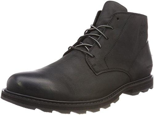Sorel Herren Madson Chukka Waterproof Wasserdichter Schuh, schwarz, Größe: 42 - Wasserdichte Herren Chukka
