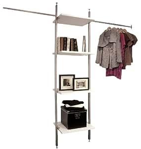 spacepro Aura Kit pour armoire, métal, blanc, Taille L