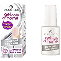 Essence Gel Nails At Home Clear Gel Topcoat, Transparent, 7ml