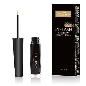 Eyelash Growth Serum Lash and Eyebrows Enhancer Eyelash Booster for Longer Thicker Fuller Eyelashes Eyebrows Serum 3ml