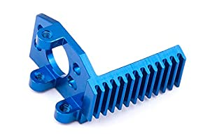 Team Associated 21093 18T Factory Team - Soporte para Motor de Aluminio Fino, Color Azul