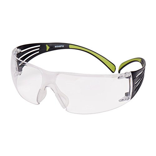 3M SecureFit Schutzbrille SF401AF, klar – Arbeitsschutzbrille mit Anti-Fog- & Anti-Scratch-Beschichtung – Wirkungsvoller UV-Schutz