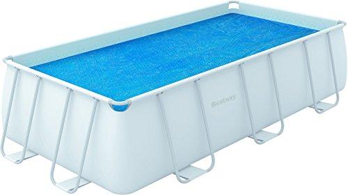 Bestway 58240 - Cobertor solar rectangular 180x380 para piscina 404x201x100 ( amplió 412x201x122 cm)